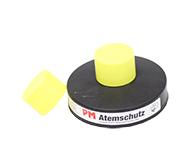 146042507 Verschlusskappe gelb für Filtergewinde mit Filter