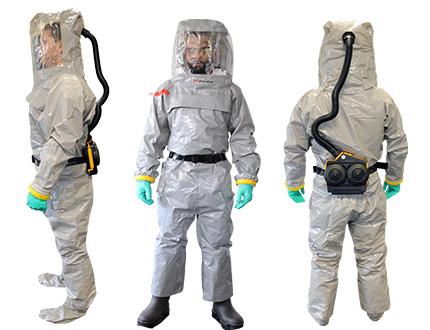 Atemschutzanzug Chemical Grey