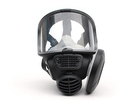Vollmaske Scott Promask FM3 mit e-breathe Partikelfilter