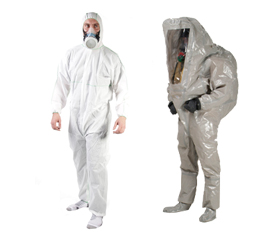 Körperschutz: Chemieanzüge