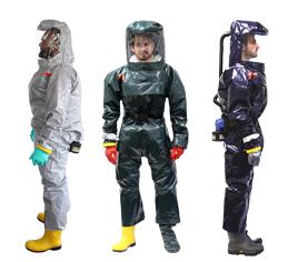 Körperschutz: Gebläseschutzanzüge PM Atemschutz
