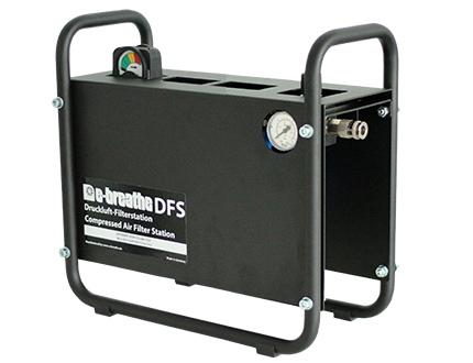 e-breathe Druckluft-Filterstation, mobile Einheit