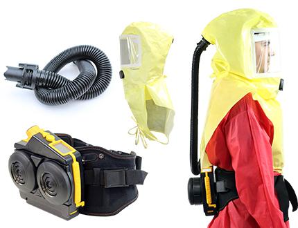 Infektionsschutz: Gebläse mit Haube e-breathe